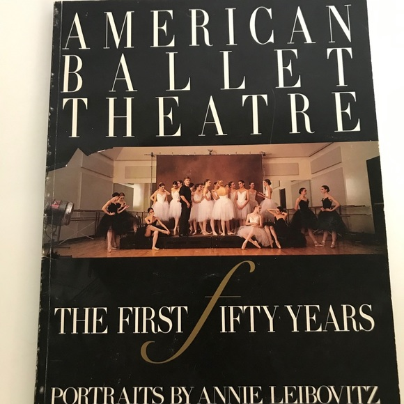 American Ballet theater 1st 50 yrs paper back book